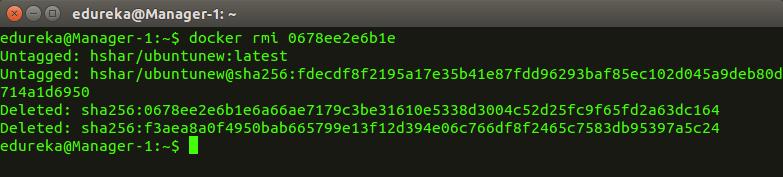 docker_rmi - Docker Commands - Edureka