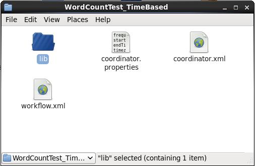 Word Count Coordinator Job Folder - Oozie Tutorial - Edureka