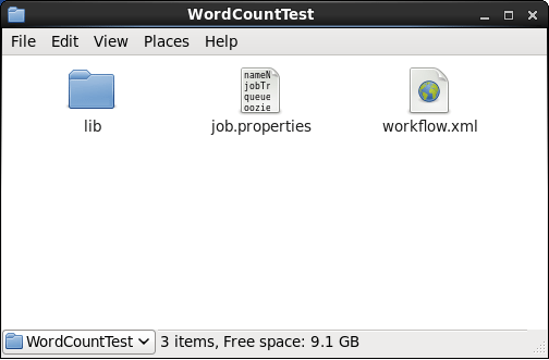 Word Count Workflow Folder - Oozie Tutorial - Edureka