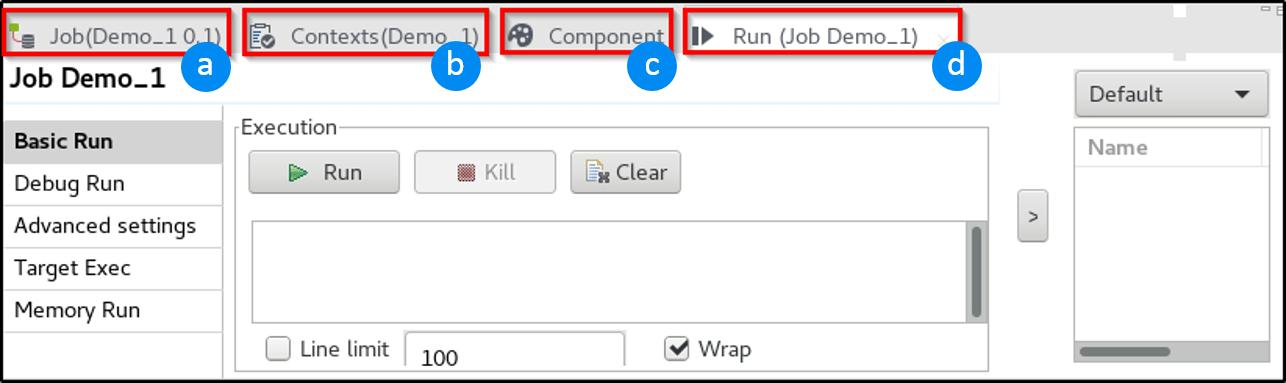 configurational tab - Talend Tutorial - Edureka