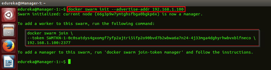 docker init command - docker swarm - edureka