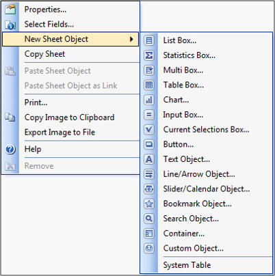 qlikview sheet objects - qlikview tutorial - edureka