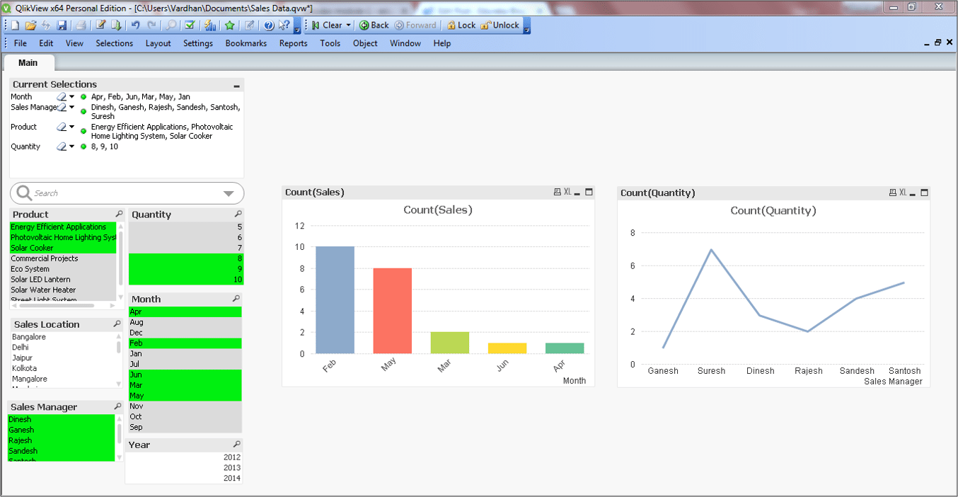 qlikview visualization - qlikview tutorial - edureka
