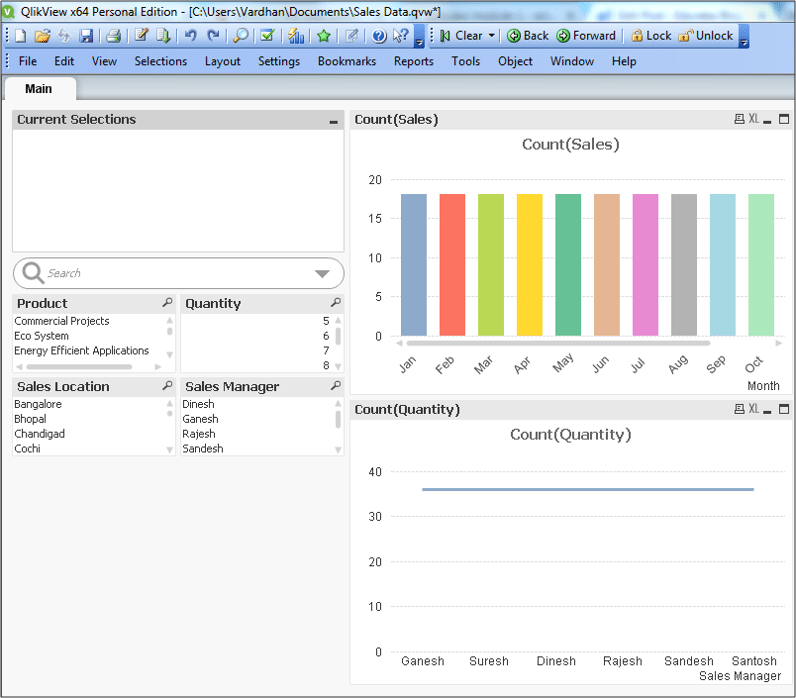 qlikview application - qlikview tutorial - edureka