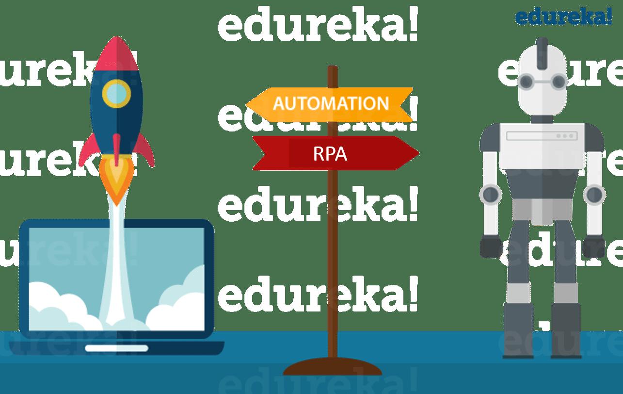 Automation vs RPA - What is Robotic Process Automation - Edureka