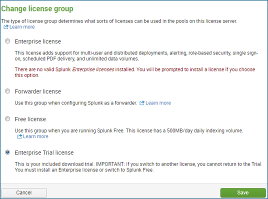 Licenses - Splunk Tutorial - Edureka