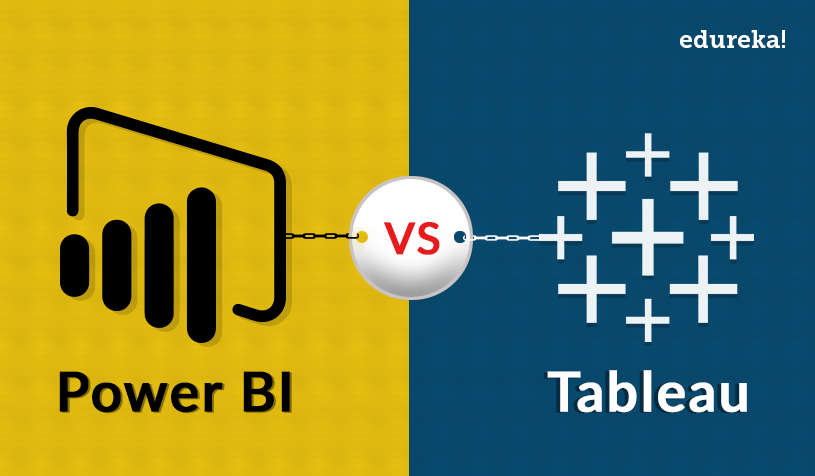 Feature Image - Power BI vs Tableau - Edureka