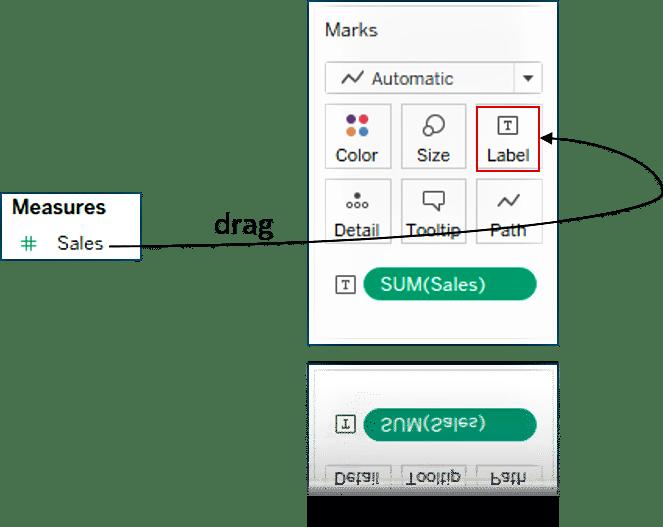 marks-card - what is tableau - edureka