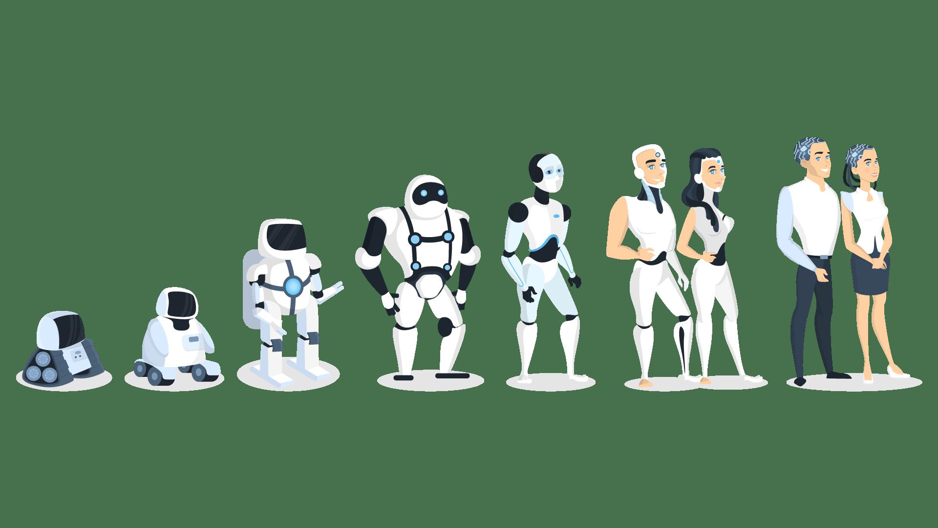 Evolution of Robots - What is Machine Learning - Edureka