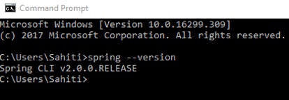 Snapshot Of Verification Of Spring Installed - Install SpringBoot Eclipse For Microservices - Edureka
