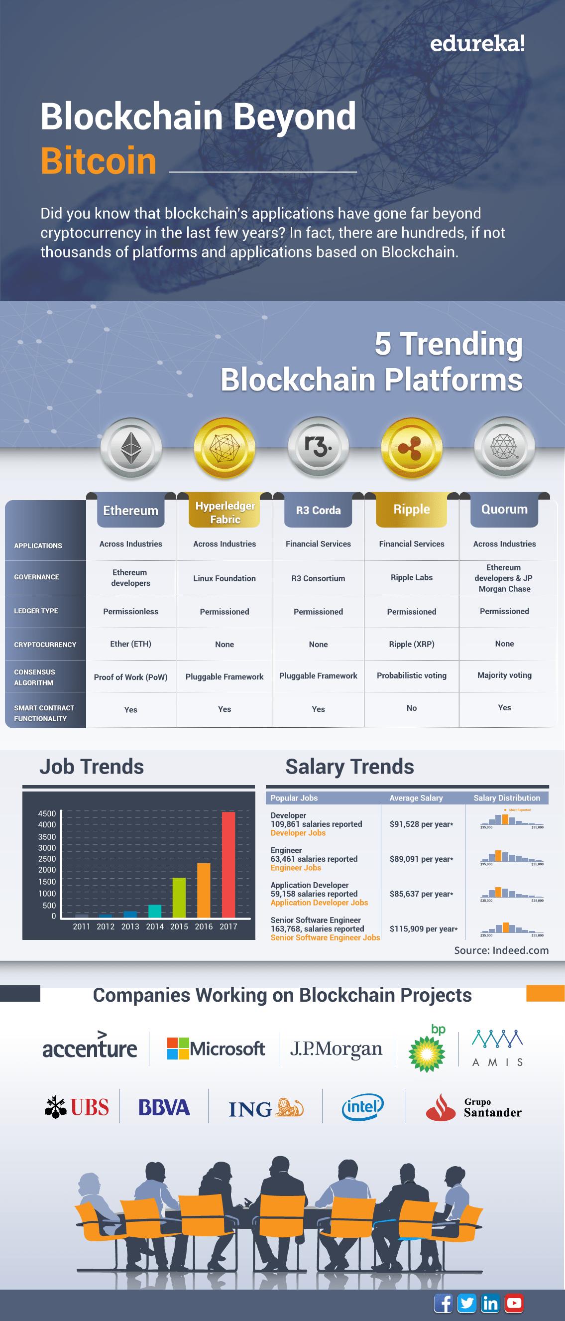Blockchain Beyond Bitcoin - Blockchain Platforms