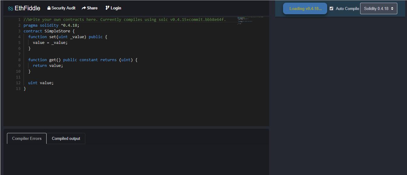 EthFiddle IDE - Ethereum Development Tools - Edureka