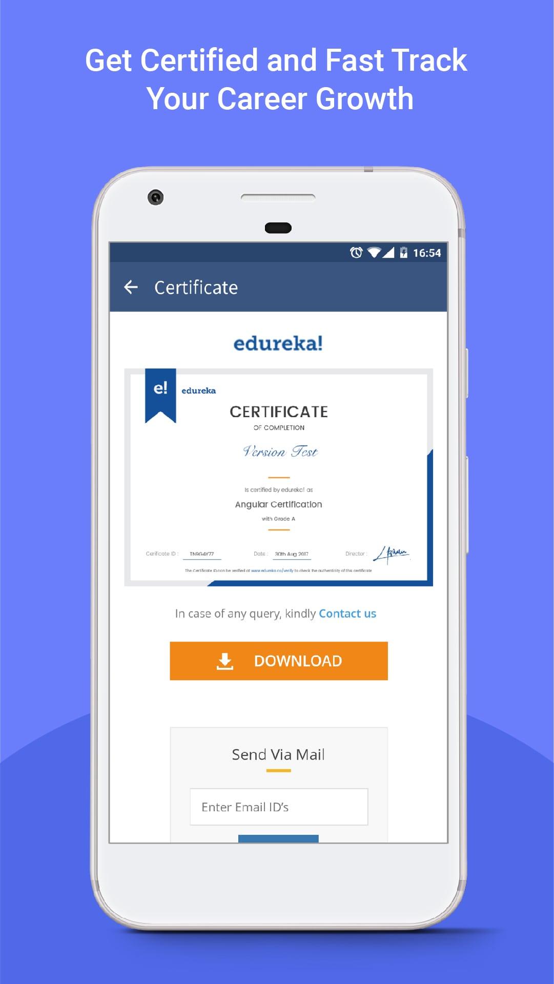 Learn On The Go Edureka Mobile App Edureka