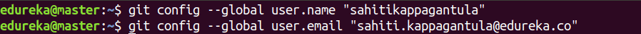 Git Config Command - Git Commands - Edureka