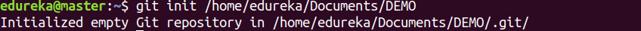 GitInit Command - Git Commands - Edureka