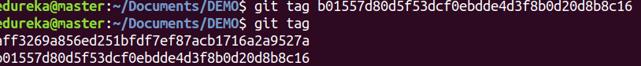 Git Tag Command - Git Commands - Edureka