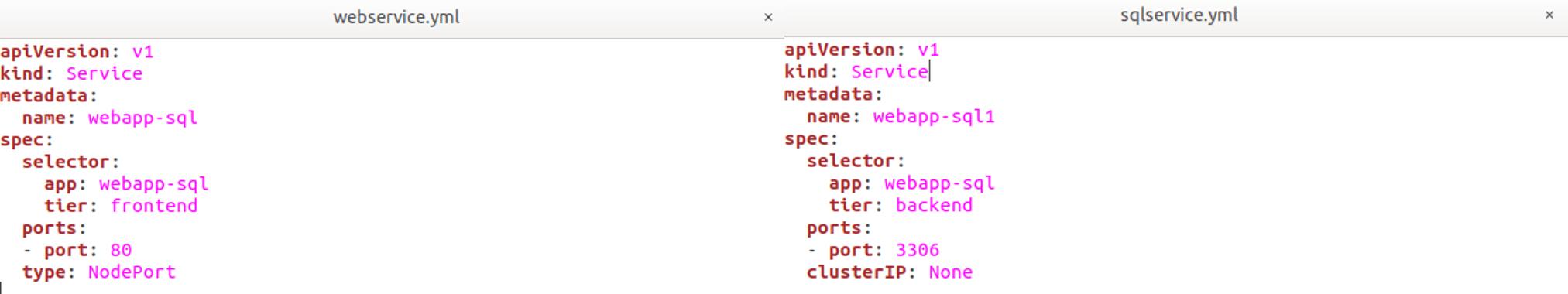 Snapshot Of Demo Step 4.1 - Kubernetes Networking - Edureka