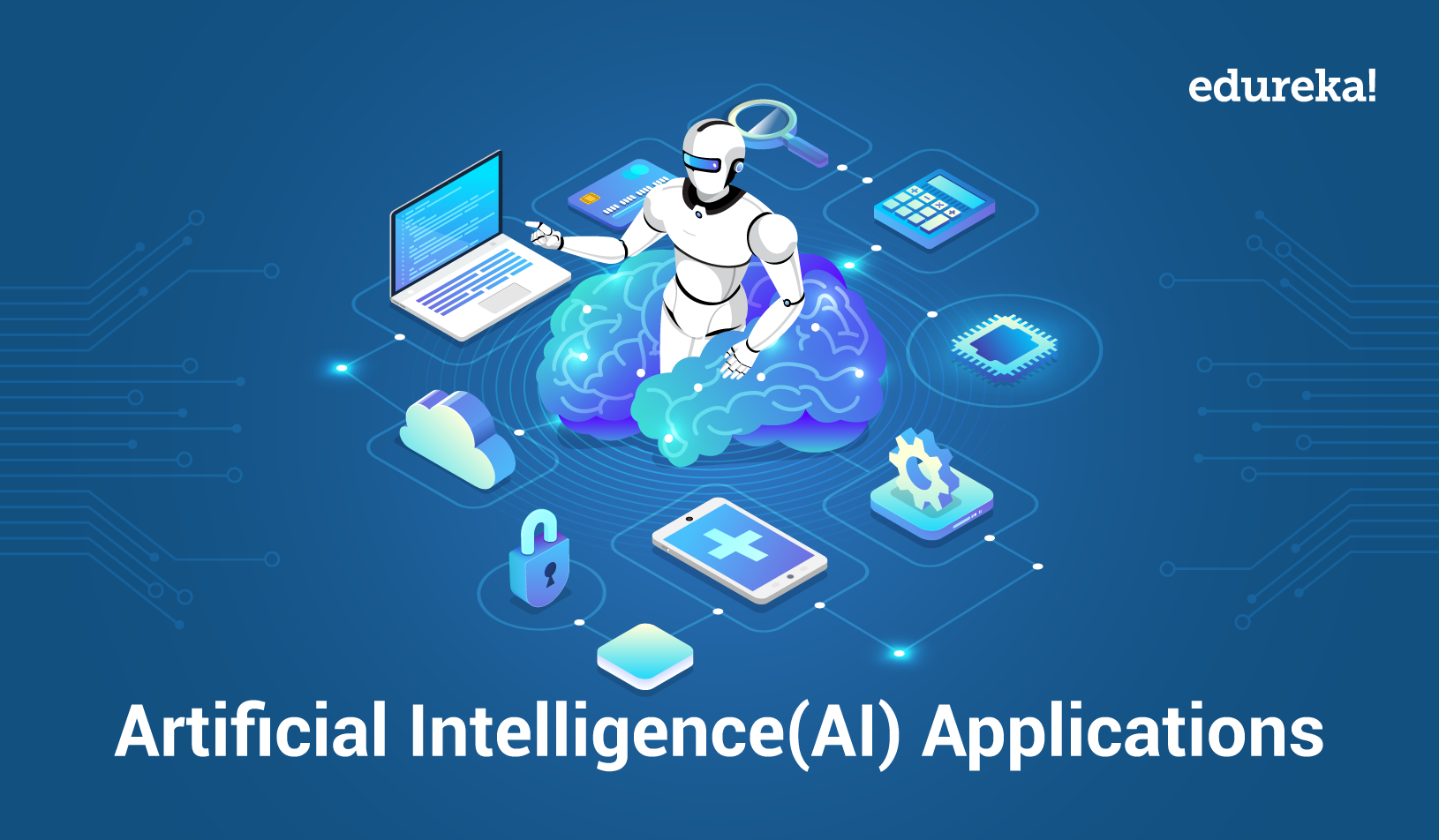 Top 10 Real World Artificial Intelligence Applications | AI