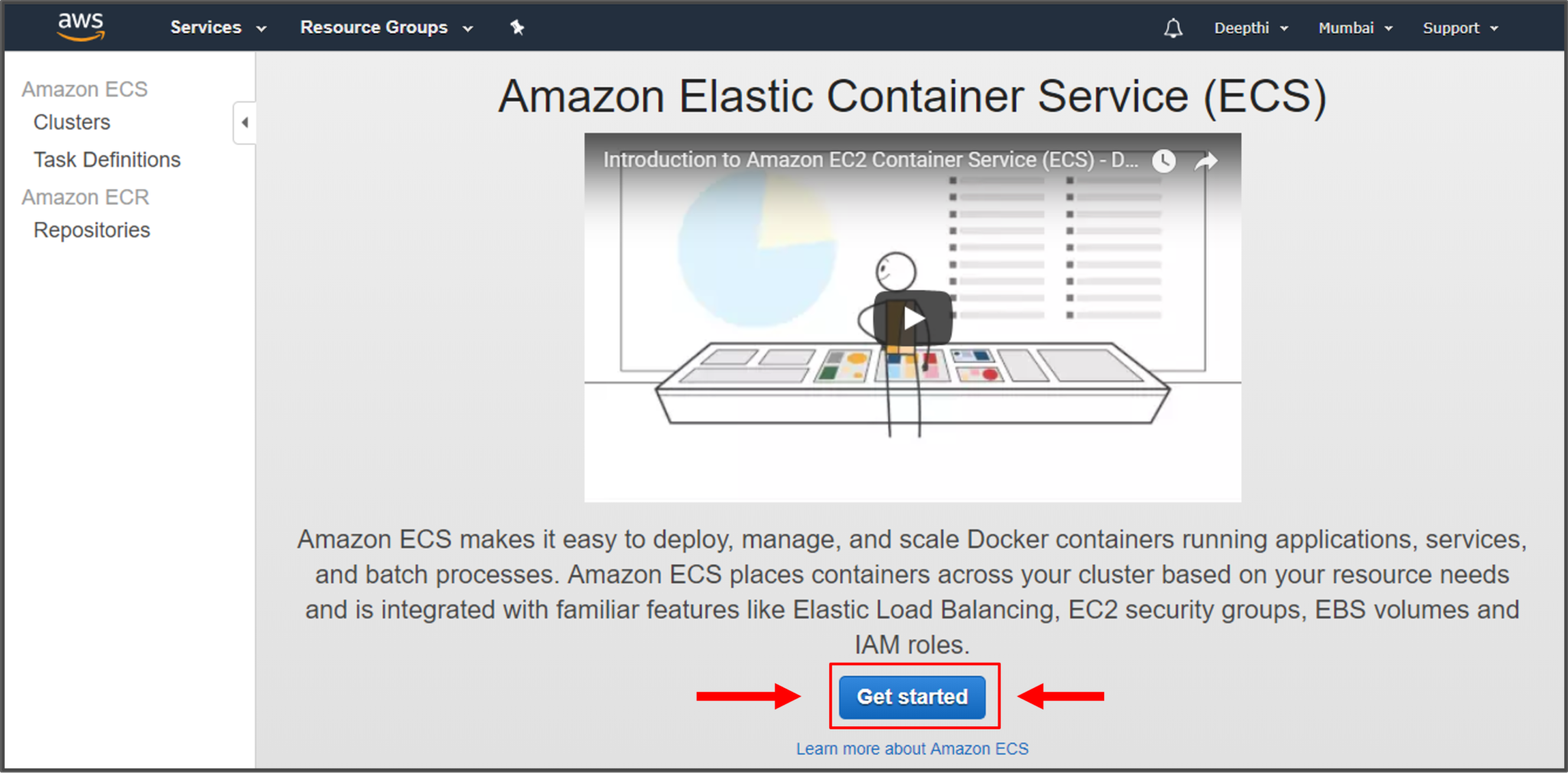 AWS Fargate: Introduction to AWS Elastic Container Service | Edureka