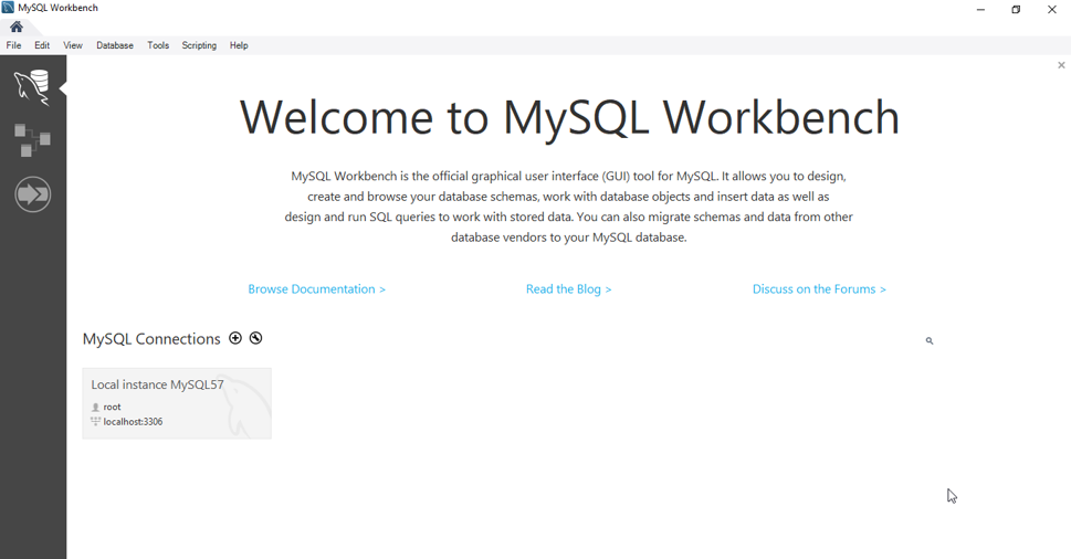 MySQL Workbench Dashboard - MySQL Workbench Tutorial - Edureka