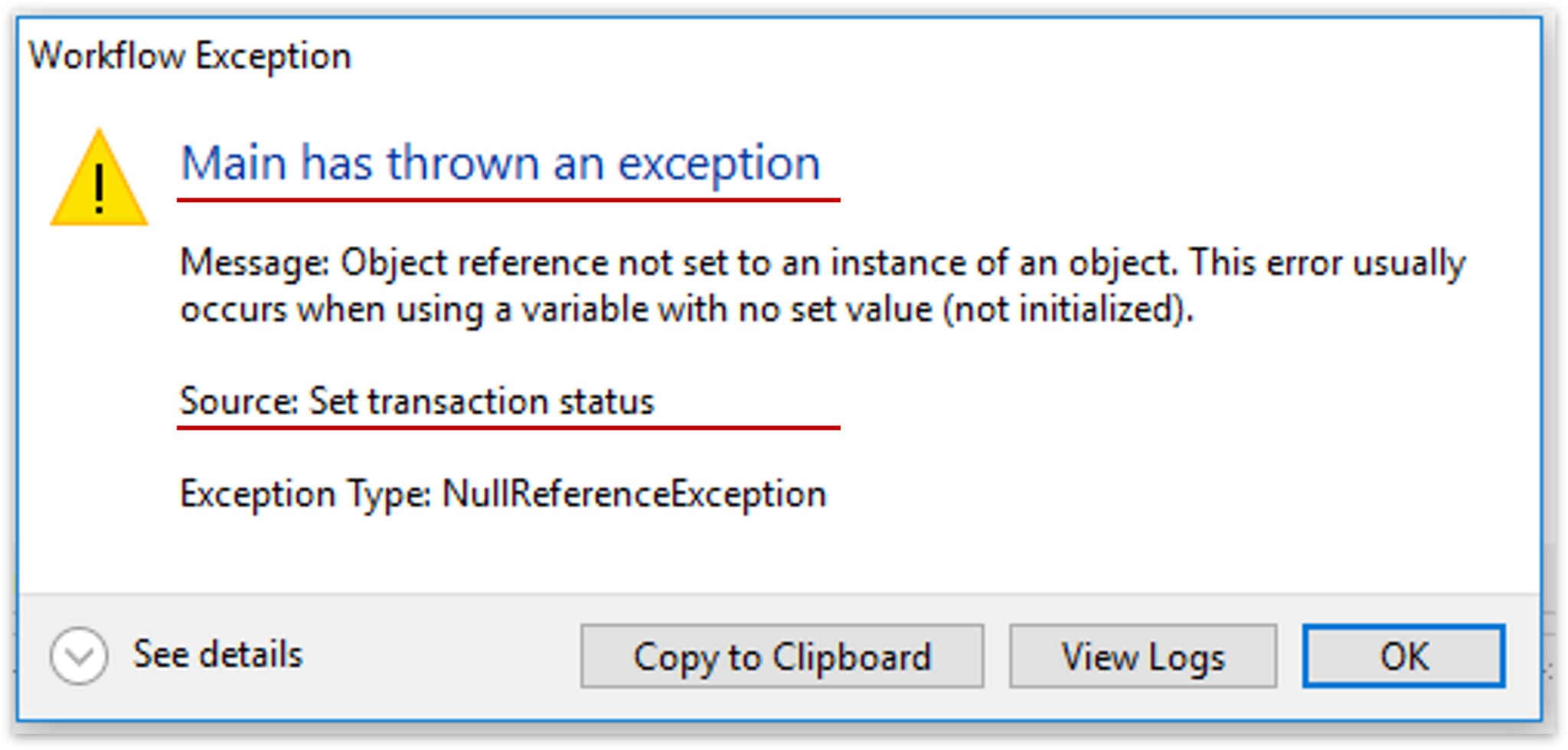 Error Handling in UiPath | Debugging and Exception Handling in