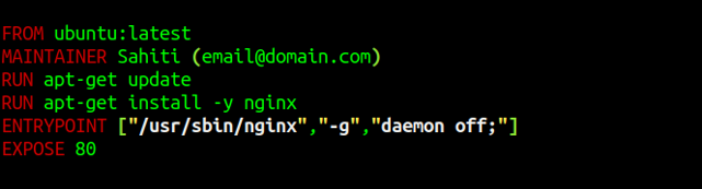 Snapshot Of Demo - Docker Explained - Edureka