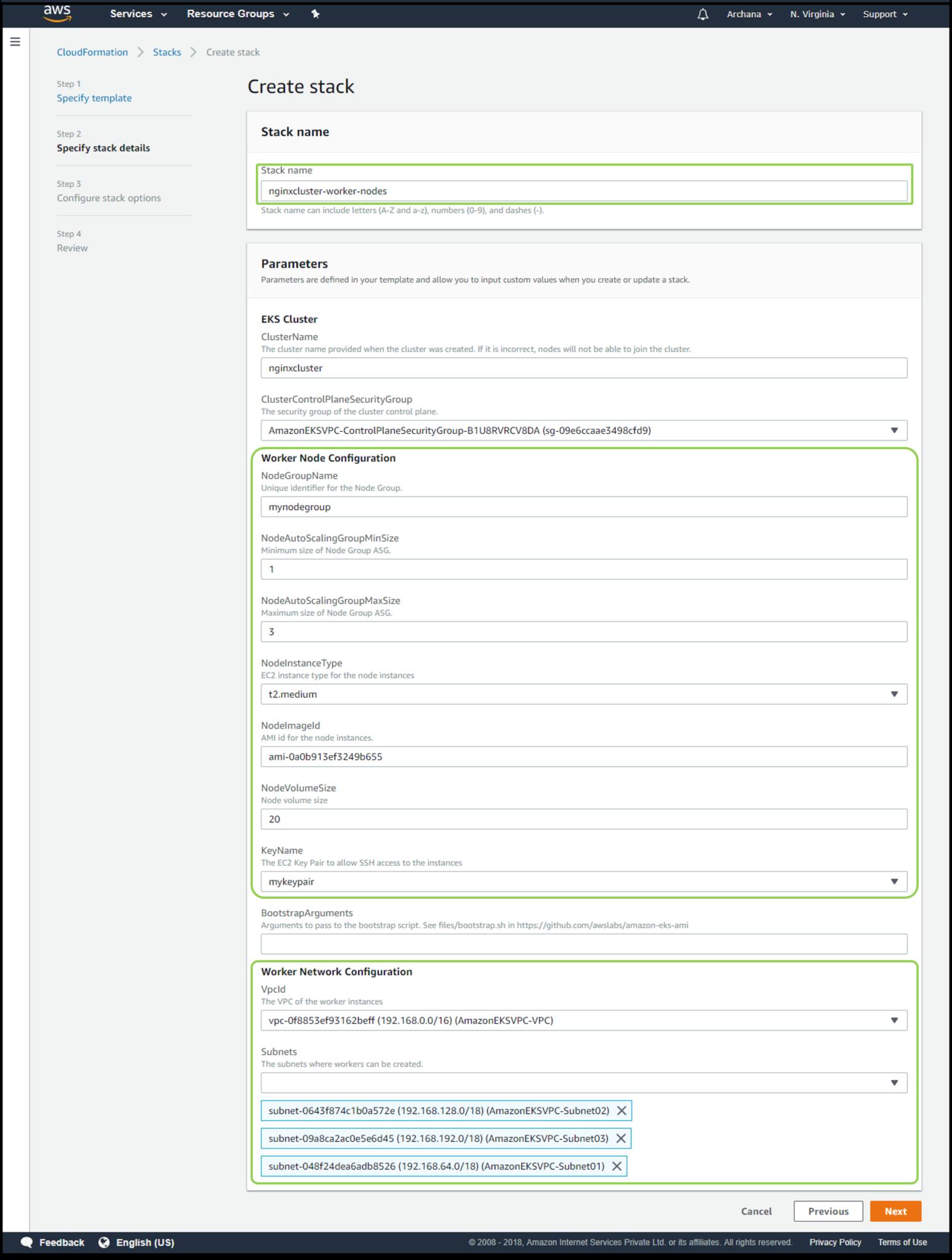 Amazon EKS   Buliding a Kubernetes Application with Amazon