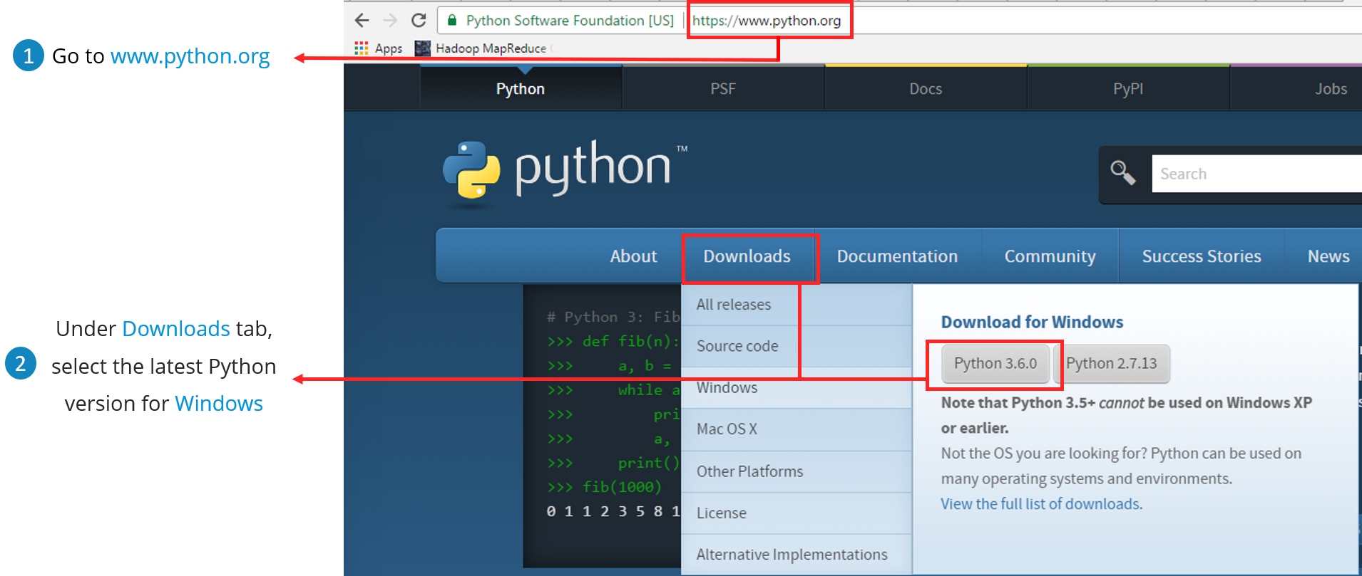 Download Python - Python Tutorial - Edureka