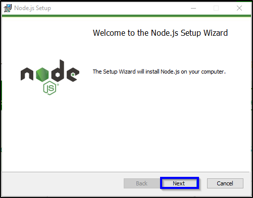 Installation Step 4 - Node.js Tutorial - Edureka