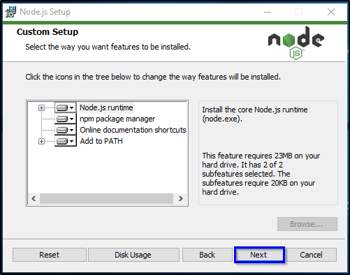 Installation Step 7 - Node.js Tutorial - Edureka
