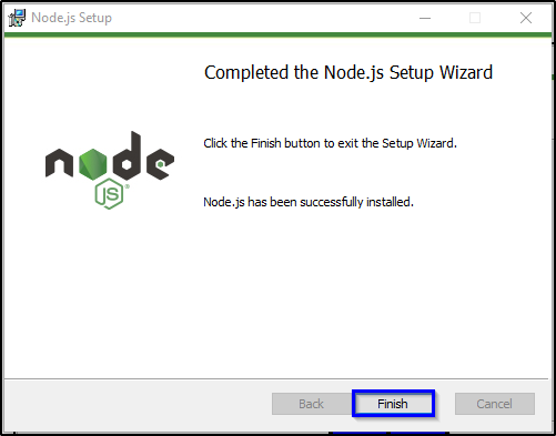 Installation Step 9 - Node.js Tutorial - Edureka