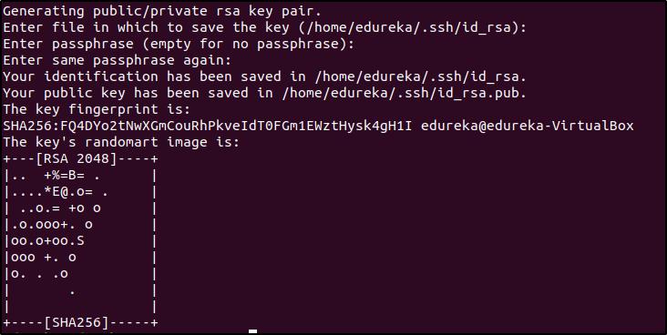 ssh-key - Ansible provisioning - Edureka