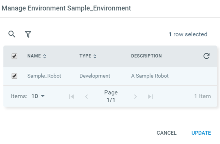 enable uipath robot service