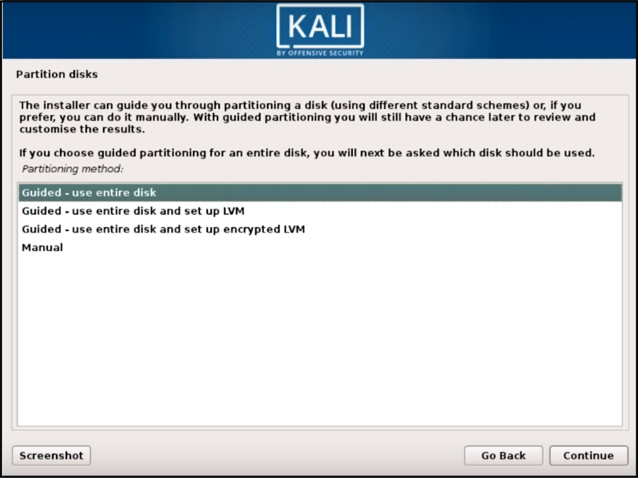 Step 5 Kali Linux - How to install Kali Linux - Edureka
