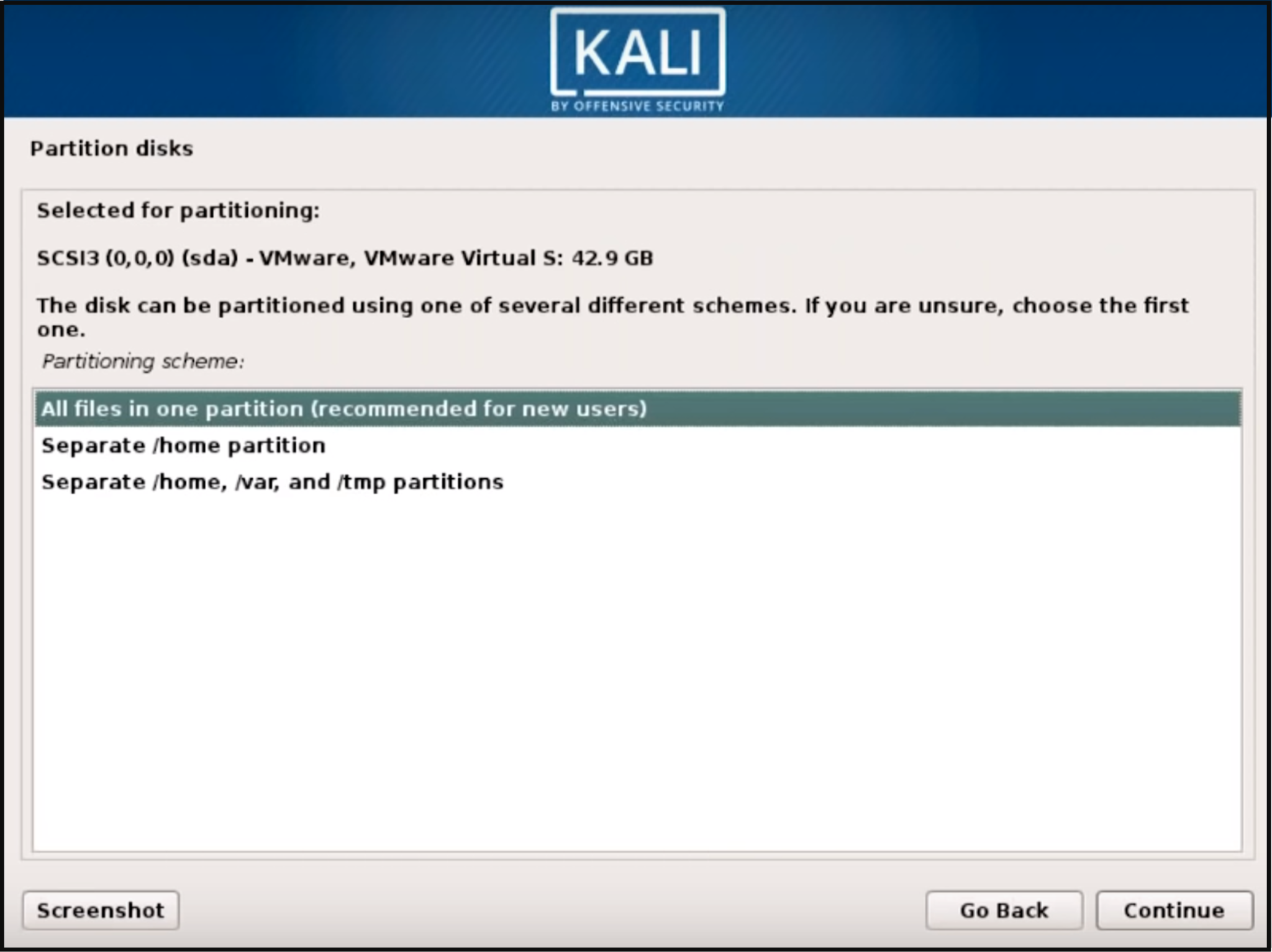 Step 6 Kali Linux - How to install Kali Linux - Edureka