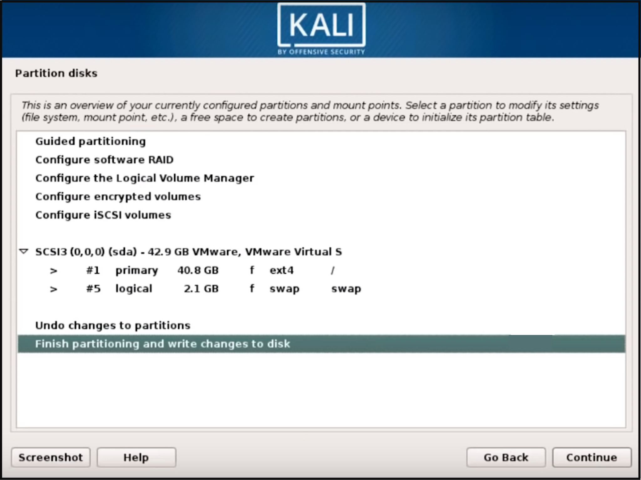 Step 7 Kali Linux - How to install Kali Linux - Edureka