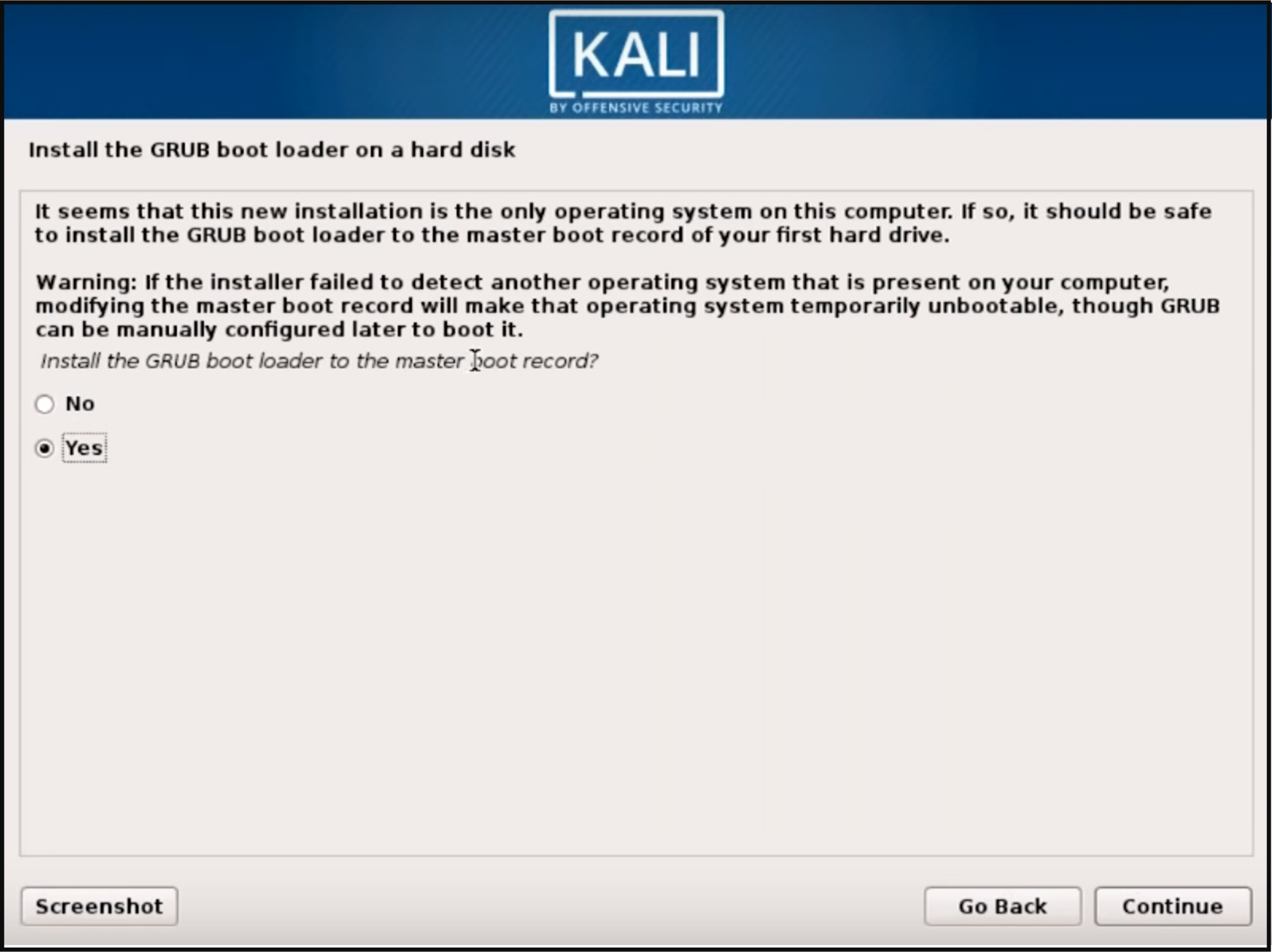 Step 9 Kali Linux - How to install Kali Linux - Edureka