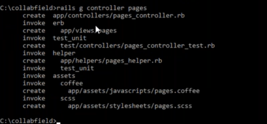 pages controller - ruby on rails - edureka