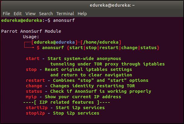 anonsurf help doc - anonsurf - edureka