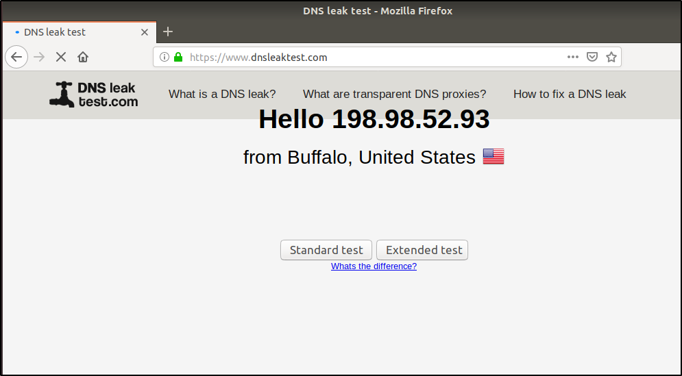 dns leak test - proxychains - edureka