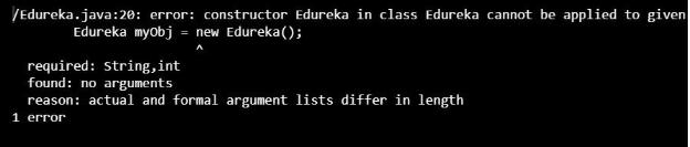 了解Java中的参数化构造函数及示例