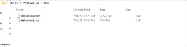 helloworld file- how to compile java program - Edureka