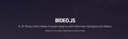 bideo.js- javascript libraries- edureka