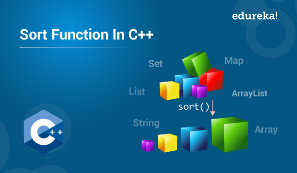Sort Function In C++ | Sorting Algorithms In C++ | Edureka