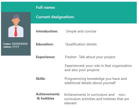 Front End Developer Resume Build An Impressive Resume Edureka