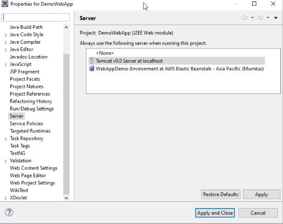 Step 3 - Deploy Java Web App in AWS - Edureka