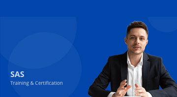 SAS Training and Certification Preview this course