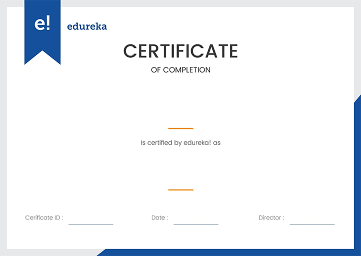 edureka review- certification